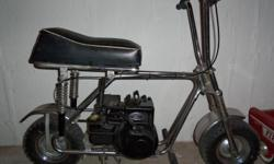 1969-1970 Eltigre Mini Bike, all original; crome frame & forks, seat, wheels & tires. Never recked, starts, runs & drives great. Engine is 3HP Briggs. Truly a good 'ole neat bike. Must see!!
