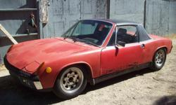 1972 porsche 914-runs real good and strong. new engine, clutch & tires. body in nice condition-no cancer. registration current and ready to drive. plus a big box of extra parts. have original fuel injection system, all new brain &