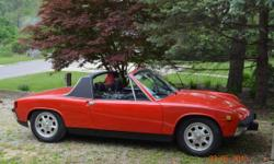The 914 was produced for seven model years (1970 to 1976), undergoing some minor, but still significant changes along the way. In 1970 and 1971, Porsche offered the 914 and the 914/6. All the cars had non-adjustable passenger seats with a tethered,