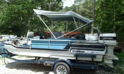 1978 17ft Deck Boat with 120hp Johnson. Short term layaway available with no credit check. We will go up to 3 months in the spring/summer and up to 6 months in the fall/winter. Most boats we require $500.00. Shown by appointment only. Call Jason @