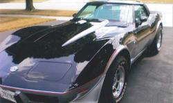 Year: 1978 Make: Chevy Model: Corvette Mileage: 12,762 miles Interior Color: Silver Exterior Color: Black/Silver When the Corvette museum opened in