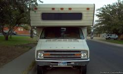 1978 dodge Monaco RV in good condition. Runs well and all systems work. Looking to get 3500.00 OBO, to contact feel free to emai, call or txt. Can setup times to see it anytime after 6:30 PM.