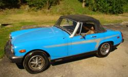 1979 MG Midget Special 60K on car 8K on Rebuild engine New head, new alternator, original top, good shape New brakes and fuel pump, Runs excellent. Comes with all receipts Garage stored since 1995 $4800 for more info contact Paul D at 402-571-7040