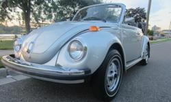 1979 Volkswagen Beetle convertible in like new condition. Car is almost 100% original with the exception of the aftermarket radio. This Super Beetle runs and drives like new. The interior is in fantastic original condition. the top is like new. The