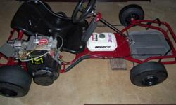 This is restored to like new condition. Runs & drives awesome. Needs absolutely nothing! Comes with helmet & extra tires. This will make a great addition to your hobby collection & give you endless hours of fun! Very fast & handles great!! Must see!!