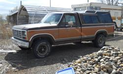 1982 Ford F-150, 351 Winsor, 4 wheel drive, air bags, good condition