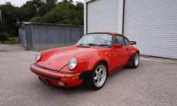 This 1984 Porsche 930 Turbo is a very sharp original matching numbers car. Red with black interior. It runs and drives great with just 50k miles. Lots of investment potential. Don't miss the chance to own this iconic 80's supercar for just $69,500