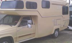 i HAVE A FOUR CYCLINDER RV, REMODELED INSIDE AND OUT, MOTOR HAS BEEN REBUILT AT 89,000 MILES, VERY GOOD ON GAS, NO LEAKS ANYWHERE, GOOD TITLE STEREO FRONT AND BACK, BATH, KITCHEN, CARPET, NEW TIRES, RUNS GOOD, LOOKS GOOD.