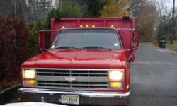 Up for sale is a 1987 Chevy Custom Deluxe 30 1-ton, 10' stake body truck, which is being sold as is. My grandfather bought this truck in 2002/2003 and owned it until his death. He used this truck for his small tree business, hauling brush (tree branches,