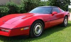 1987 Corvette Excellent Condition L-89 5.7 liter tune port injection, automatic transmission, 104K mi., power everything, new weather stripping on windows, doors & moon roof, new legal tinting on windows, recent complete engine tune up, good tires, never