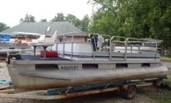 1988 20ft Sylvan with 50hp Chrysler. Motor is not running and selling as is. Short term Layaway available with no credit check. Most boats we require $500.00 down. We will go up to 3 months in the spring/summer and up to 6 months in the fall/winter. We