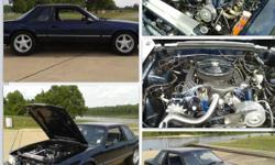 1990 LX 20,750 original miles. The car is a factory AC Delete 372CI stroker (510 HP/500 TQ) MSD ignition TKO 5-speed, 3:55 gears with locker, and 31 spline axles with TA Gurtal. BBK control arms, subframe connectors. Full MAC exhaust front to back with