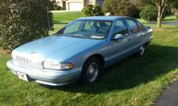 Immaculate Condition 1992 Chevrolet Caprice Classic V8 Super clean inside and outside. NO RUST, RIPS, DINGS INSIDE or OUT. new Battery, new suspension, new tires 79000 hwy miles all in Tennessee No mechanical issues, this car is built to last and has