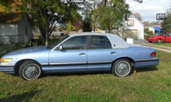Very nice blue , Great running condition, about 125,000 miles, cloth blue interior in very good condition. 4.3 liter, and automatic transmission. Runs great. Has new tires shocks. Cruise control, power steering, brakes, door locks, windows