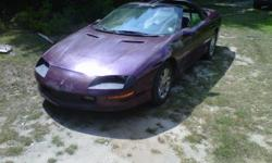 FOR SALE 1995 Chevrolet Camaro 3.4 SFI V6 (just replaced with 89,000 miles on motor!) 4L60E AUTOMATIC TRANSMISSION (Rebuilt about four years ago) Power Windows (new driver window, motor, and regulator come with the car but are not installed. passenger