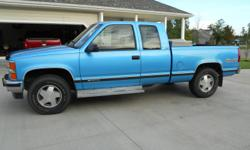 1995 chevy ext. cab 4x4 silverado. The truck has 155k,I've had the truck since 50k with no problems. THe truck has a lot of new parts and runs great. Everything works great and no rust. Call 620-382-4283.