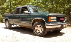 1995 GMC Sierra SLT 4x4 187,000 miles. 479-409-889five