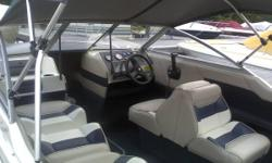 1996 19.5 Open Bow Capri Bayliner. Great condition. Great family boat for skiing, tubing or just relaxing out on the lake. We have gotten too old for this boat and all of our children are grown. It wasn't taken out once this summer, so