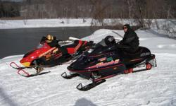 What a Great and Affordable Sled New Hyfax and Carbides and only 3,900 miles on this absolutely beautiful sled. One owner and this Ski-Doo has been very well taken care of. Motor, paint, seat, dash, hand and thumb warmers, etc.... all in great shape. And