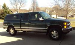 1997 Chevy Silverado Z71 Ext Cab 4x4 with 3rd door. 181,000 miles (40,000 on new short block) New brake rotors, pads, calipers, and fuel pump. AM/FM CD cassette player, Power doors, windows, mirrors Call 608-838-8960 after 5 PM weekdays