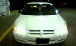i have a 1999 dodge stratus 4 door the only thing wrong with it needs a water pump and a tune up done the car runs really good asking 1500.00 on it the blue book it is 1850.00 you can call me at 409-835-5348 are 409-835-5348