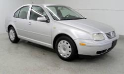 1999 Volkswagen Jetta GL 2.0 Liter I-4 Engine with Automatic Transmission, 143143 Miles. Silver with Gray Interior, AM/FM/CD, Air Conditioning, Rear Defroster and more. We can schedule a time for you to view this vehicle and take it for a test drive. You