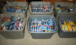 8,000 plus 1/64 diecast cars, in bubble pack 90% Hot Wheels. I also have pro-mods, d-rods lots of varieties of jada diecast, all in mint condition, I also have a handful of loose cars. MUST SELL!!!