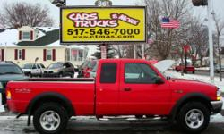A Great Truck that's worth your BUCK!!!! This little red truck is a functional, reliable, underpowered overachiever!! The Ranger is a dependable, solid, tough little truck! The Ford Ranger is a great utility truck with good performance and a lot of FUN to