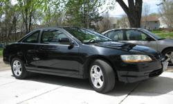 I have a 2000 Honda Accord EX V6. It is a black coupe with grey leather interior. The car has 140,000 miles on it. The car has a 2 way Clifford alarm with remote start. http://www.clifford.com/Products/Product.aspx?ProductID=721. The car is also coming