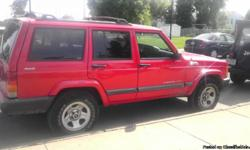 2000 Jeep Sport 4x4, 4door, 6cylinder, auto, 118,000 miles, black exterior /black interior. new brakes: front and back last year, new front rotors, new tires, antifreese changed,The air conditioning and heat working good. there is a dent in the rear