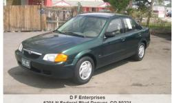 2000 Mazda Protege LX, 128,836 Address: 6201 N Federal Blvd Denver, CO 80221 View our website: www.denverusedcarsonline.com