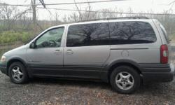HERE IS A VERY RELIABLE MINI VAN RUNS DRIVES GOOD NEEDS NOTHING TO DRIVE EVERYDAY BUT NEEDS A LITTLE TLC PASSENGER WINDOW NEEDS FIXED IT GOES UP AN DOWN BUT NON POWER. OVERALL CONDITION IS DECENT IS LOADED WITH POWER OPTIONS POWER SLIDING SIDE DOOR COLD