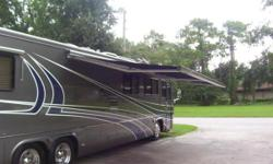 Possible owner financing or trade for 2005-2008 rv 42-45 tag axle coach.... Used 2001 Monaco Executive 42-PLS Diesel Pusher. ? ROADMASTER SEMI-MONOCOQUE CHASSIS ? SLIDE OUT ? CUMMINS ISM 500 HP ? GIRARD AUTOMATIC AWNING ? AQUA-HOT ? CHERRY CABINETRY ?