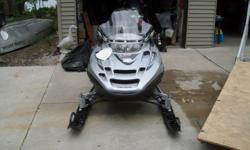 2002 polaris , 2300 miles, electric start, reverse, hand warmers, studded, wired for heated face shield,buddy tank ( 3 1/2 gallon ),cover,extra,skags,. mirrors, saddle bags in back, new battery 231-839-5818 3000.00 LAKE CITY