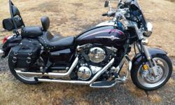 2003 Kawasaki Meanstreak 1500, very nice condition. For sale or trade for small pickup (4x4, manual transmission). Send pics 479-312-7179 or leave message 479-262-2328