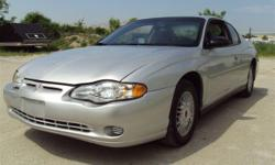 04 Monte Carlo available right here at the Little Lot. The unit has a 6 cylinder auto transmission. Dual climate control and custom C/D player Factory mag wheels. Body and interior are in very decent condition. It has 125k. for miles. This car runs and