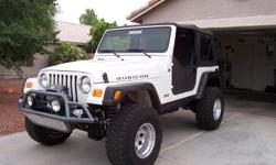 2004 Rubicon, $20k/ OBO. Rubicon trail ready. Lots upgardes and add ons. Extra doors, tops and too much to list. If interested please call 916-613-0163