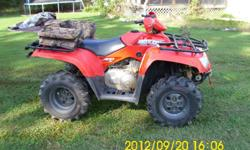 This is a 2005 Articat 400 4x4 maintained, but never have time to ride. Times are hard must sell!!