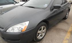 2005 Honda Accord Coupe EX-Automatic 4Cyl. 58,000 miles Great Condition! Non-Smoker Black leather interior Automatic doors and windows heated seats sun roof tinted windows Passanger and side airbags cd player