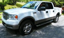 This 2005 F-150 XLT Super Crew Cab is in excellent condition with 140500 miles and a lot of life left. 5.4L Triton V8. Has a long range remote start for those really cold days. For more information contact me at: Casey.342@aol.com