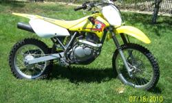 2005 Suzuki 125L DRZ four stroke Air cooled, 5 speed,disc brakes Tires are like new ! good condition runs Great !! Green sticker good till 2012 very low hours. For more information call 951-316-1438