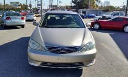 2005 Toyota Camry the comfortable and timeless, Toyota Camry...automatic with power options. Clean Carfax and title. Thanks for interest in my 2005 Toyota Camry just call me at 9545268622 for more information. -