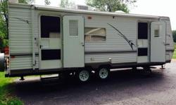 FOR SALE: 2005 TRAIL-VISION CAMPER 26-FOOT CAMPER WITH SLIDEOUT. EXCELLENT CONDITION. $9,000 OR BEST OFFER. ASK FOR WAYNE.