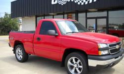 SHARP truck!!! Red with some sweet wheels....looks goood!!! 4x4, bedliner, custom wheels, NEW tires, towing package, and much more! Check out our video walk around of this vehicle at http://www.youtube.com/watch?v=5gpQ54lzRTI Call Will TODAY 870-935-5200