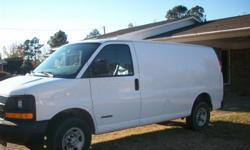 2006 Chevy Express Van (Extended) excellent condition, v-8, automatic, air condition, one owner, mileage 99,000   Call --