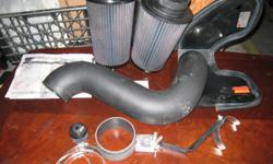 For sale is this K&N cold air intake that came out of a2006 Dodge 2500 Diesel engine with all the necessary hardware and two (2) K&N replacement filters, this intake was used for about 3 years ,