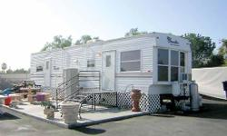 2006 Franklin Travel Trailer lightweight bumper pull . 33 ft long. Sleeps 6 Has 2 a/c Units with Central air and heat queen size bed in back bedroom with full size closet and bathroom. Washer and dryer, new awning .1 Slideout in Living room and