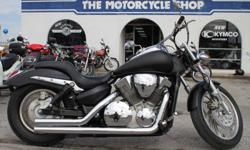 Custom paint (Flat black with pin stripe) Only 10,900 miles. Plenty of V-twin power. The Motorcycle Shop 2423 Austin Hwy San Antonio, TX 78218 210 654-0211 http://www.themotorcycleshopsa.com
