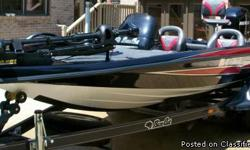 MUST SEE! Respond to this ad only if YOU are interested in buying this boat. ! **CALL 2-2-8-623-7-6-0-4 35th Anniversary model LOW Hours ~70 Custom Cover Fish finder/navigation Professional and Tournament Ready Top of the line Tournament Trailer MUST