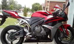 2007 Honda CBR600RR Motorcycle Clean title, 8200 miles! I will ship it! Nice clean bike, runs strong. Shifts smoothly through all gears. Mostly stock but has a few upgrades: new front rotors, stainless steel brake lines, clip ons, msr adjustable clutch
